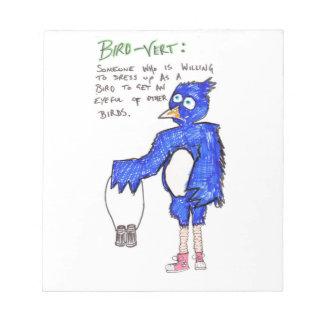 Birds!! Notepad