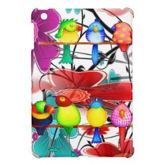 Birds of a different color iPad mini cases