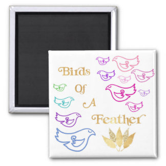 Birds of a Feather Magnet
