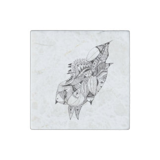 Birds of a Feather Stone Magnet