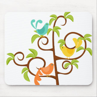 Birds of a Tree Mouse Pad