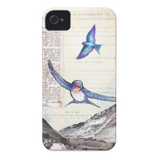 Birds of a Welsh Valley iPhone 4 Case-Mate Case