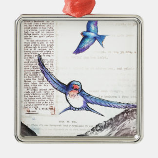 Birds of a Welsh Valley Christmas Ornament