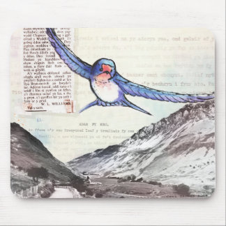 Birds of a Welsh Valley Mouse Mats