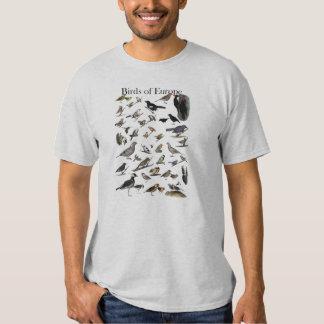 Birds of Europe Shirt