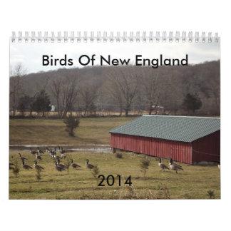 Birds Of New England 2014 Calendar