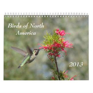 Birds of North America Calendars