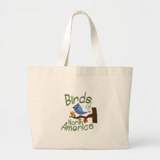 Birds Of North America Jumbo Tote Bag
