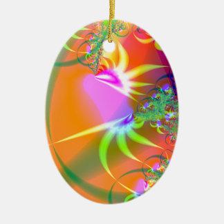 Birds of Paradise (A) Ceramic Oval Decoration