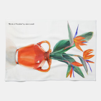 Birds of Paradise Kitchen Towel