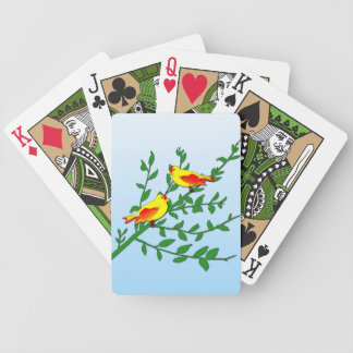 Birds of Peace Bicycle Playing Cards