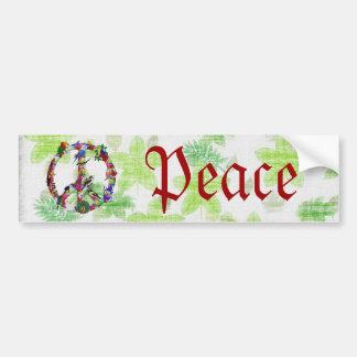 Birds Of Peace Car Bumper Sticker