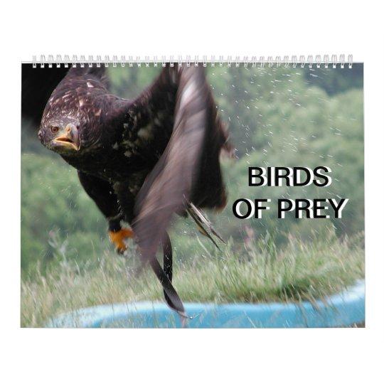 Birds Of Prey 2018 Wall Calendars