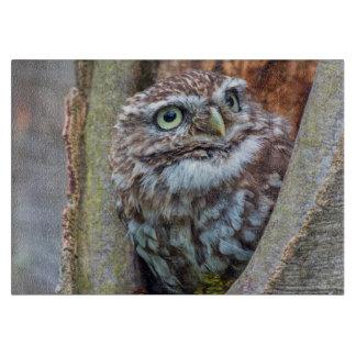 Birds of prey owl photograph chopping board