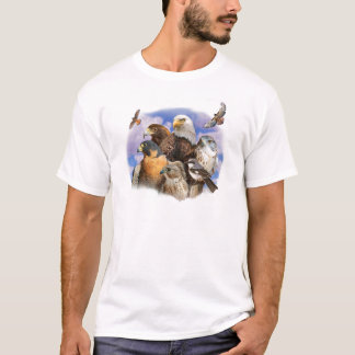 birds of prey raptors T-Shirt