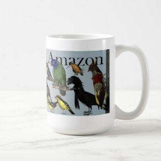 Birds of the Amazon Basin Coffee Mug