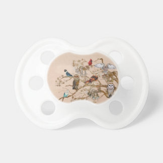 BIRDS OF THE SAME FEATHER Pacifier