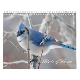 Birds of Winter Calendars