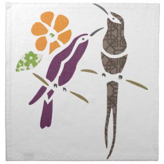 Birds on a branch napkins