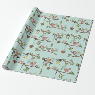 Birds on a Branch Wrapping Paper