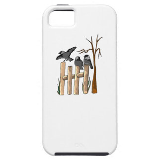 Birds On A Fence iPhone 5/5S Case