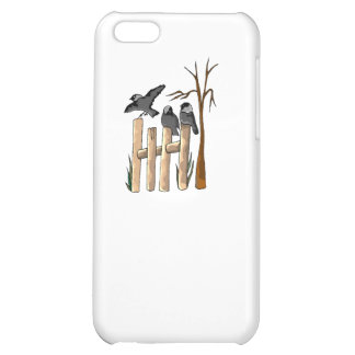 Birds On A Fence Case For iPhone 5C