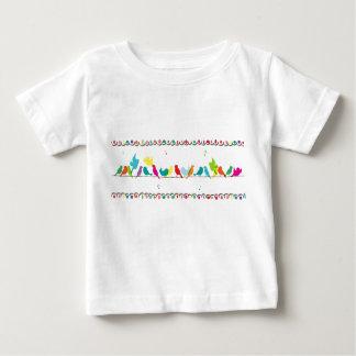 birds on a line shirt