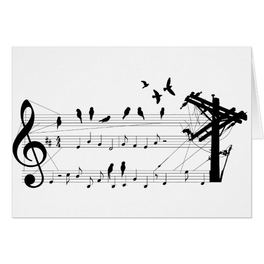 Birds on a Score card