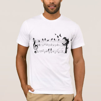 Birds on a Score T-Shirt