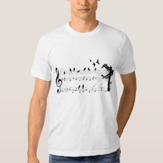 Birds on a Score Tee Shirt