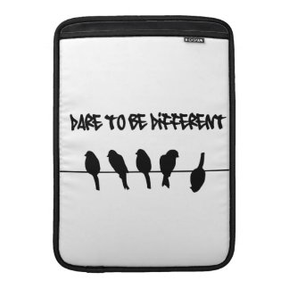 Birds on a wire – dare to be different MacBook sleeve