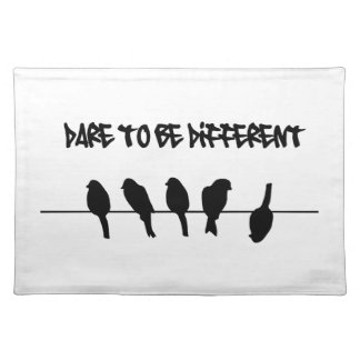 Birds on a wire – dare to be different placemat