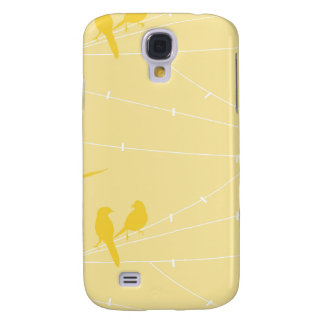 Birds on a Wire Galaxy S4 Case