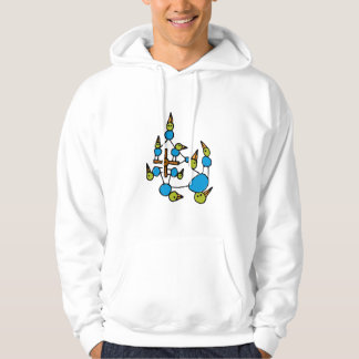 Birds on a wire hoodie