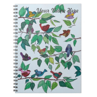 Birds on Branches Notebook