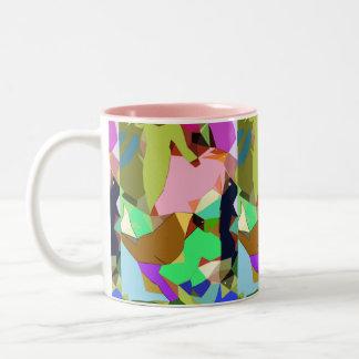 Birds On the Catwalk Surreal Abstract Print Mug