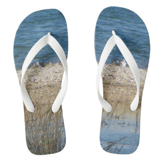 BIRDS ON THE MATANZAS Flip Flops