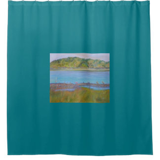 BIRDS ON THE MATANZAS RIVER Shower Curtain