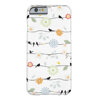Birds on Vines iPhone 6 case