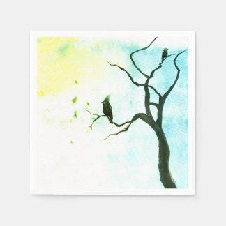 Birds Paper Serviettes