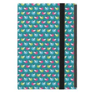 Birds pattern Blue iPad Mini Cases