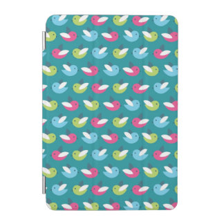 Birds pattern Blue iPad Mini Cover