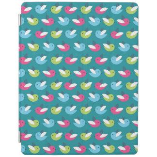 Birds pattern Blue iPad Smart Cover
