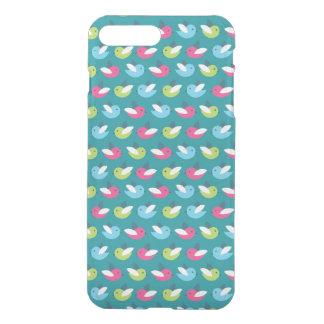 Birds pattern Blue iPhone 8 Plus/7 Plus Case