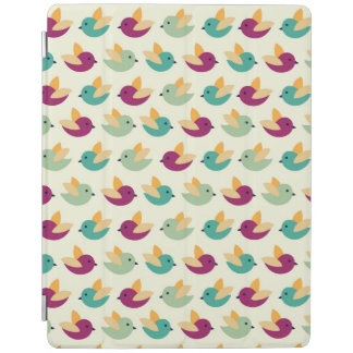 Birds pattern iPad smart cover