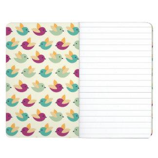Birds pattern journal