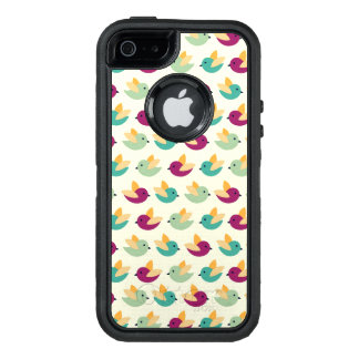 Birds pattern OtterBox defender iPhone case