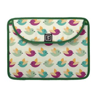 Birds pattern sleeve for MacBook pro
