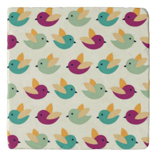 Birds pattern trivet
