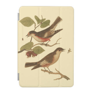 Birds Perched on Branches Eating Insects iPad Mini Cover